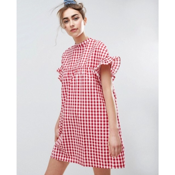 215eefd7d2ab ASOS Dresses   Skirts - ASOS Gingham Smock Dress Size 10 US